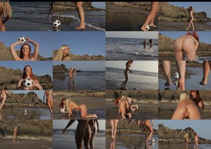 FemJoy Ariel & Miela Beach Soccer