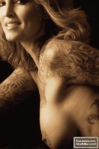 Janine Lindemulder - Sepia Toned Nudes