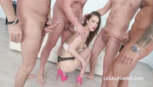 Nana Garnet, Neeo, Thomas Lee, Angelo, Rycky Optimal - Dap Destination 4On1 Nana Garnet Gets Balls Deep Anal, Dp, First Dap, Gapes, Cum Swallow Gio985 (2019/LegalPorno.com/SD)