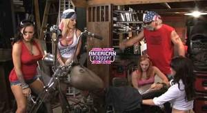 Dani Jensen, Vanessa Veracruz - This Ain't American Chopper sc1
