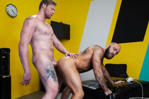 RagingStallion – Masturbation Station: Teddy Bear & Ryan Stone Bareback
