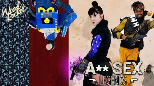 Charlotte Sartre - Apex Legends Porn Parody (2019/WoodRocket.com/HD)