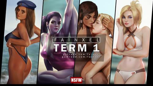 Fainxel NSFW Art: Term 1 by Fainxel