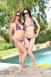 Veronica Avluv & Felony - Lesbian Pool Party