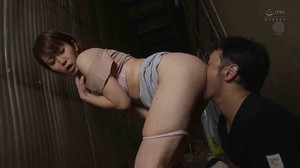 JUY-711 Housewife Part Miserable Train sc3