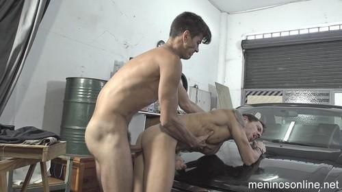 MeninosOnline - Trocando o Oleo (Sam & Diego Semblano) Bareback