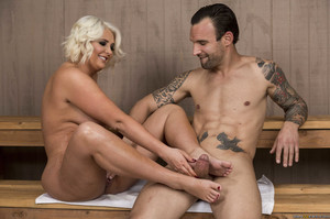 New! 06/26/19    Kristina Shannon - Sauna Spy!