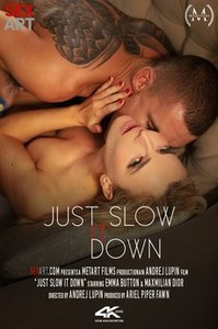 $3x4rt • Emma Button in Just Slow It Down