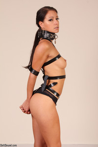 Melisa A Melisa Strapped and Ring Gagged
