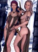 Erotic 3d artwork by Uawa 2020