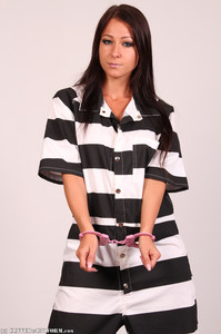 Melisa A Melisa - In a Pink Prison Hogcuff