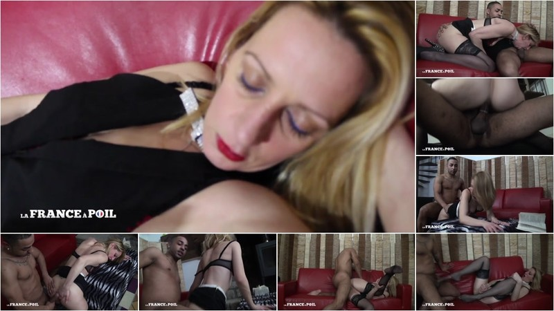 Louise Du Lac - A mature nympho secretary dreams of getting fucked by a black dick! [HD 720P]