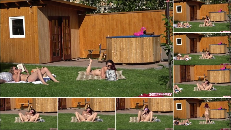 Melina-May - So feiere ich den Sommer in der Therme [FullHD 1080P]
