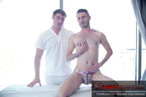 MENPov - Resort Massage (Michael Boston & Robbie Caruso) POV