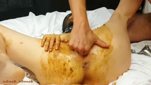 Scat session on with mattress - Femdom Scat, Shiting