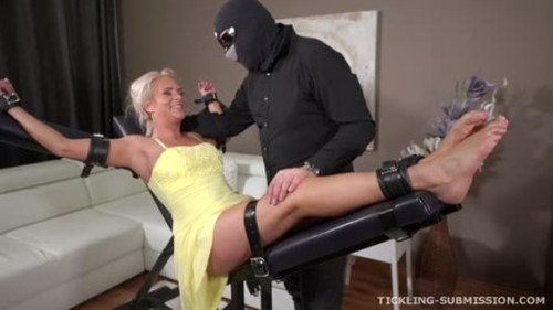 Super ticklish milf - Bondage and Discipline