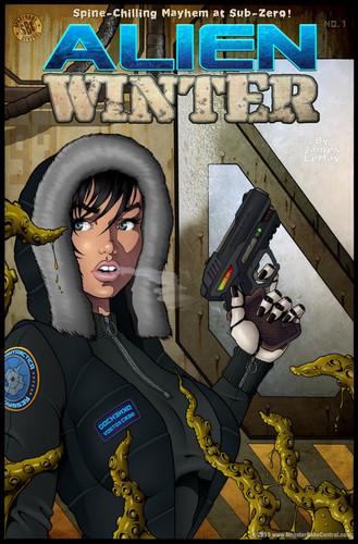 Alien Winter (SpaceBabeCentral) Cover