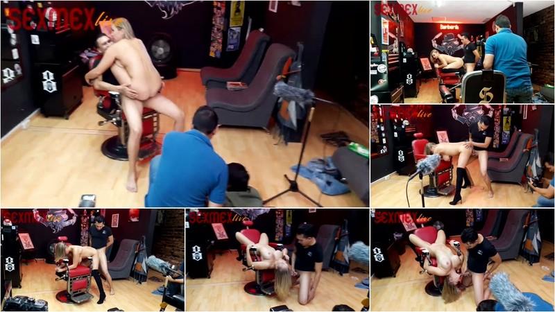 Eva Davai - Eva Barbership BTS SMXL [FullHD 1080P]