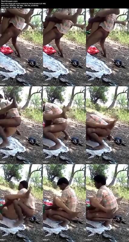 Desi couple's romance in park full mms