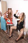 Milena Angel & Marianna M - PinUp Dolls (x150)