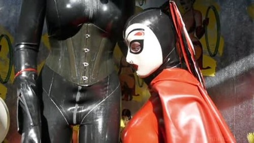 Latex Catsuit, Rubber Gimp, Leather Fetish Sex 238