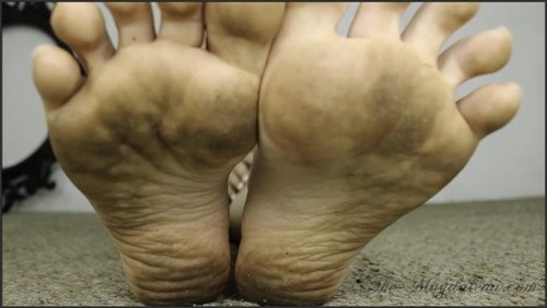 M - Black Thong + Dirty Soles In Your Face .mp4 -  - iwantclips