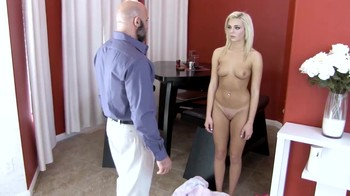 Submissive naughty stepdaughter in hypno incest