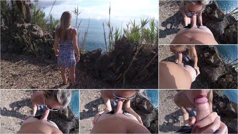 SpicyBooty - POV Public Blowjob and Cum in Mouth - Watch XXX Online [FullHD 1080P]