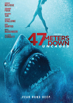 Póster de 47.Meters.Down.Uncaged 2019 DVDCustomHDrip Dual Latino Line