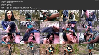India Babe - Dogging In The Woods, 540p