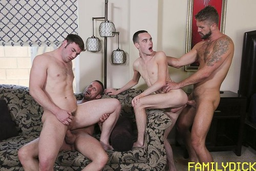 Return To Sender: Michael Boston, Joe Ex, Myles Landon, Wesley Woods [Bareback]