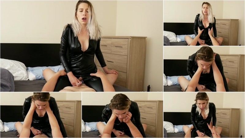 Kinkycouple111, Samantha Flair - 3 Huge Riding Orgasms Being Choked From Catsuit Goddess [FullHD 1080P]