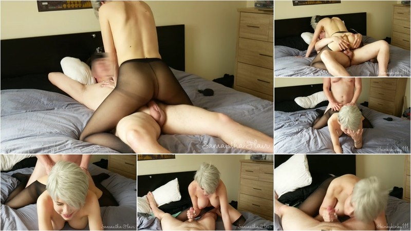 Kinkycouple111, Samantha Flair - Pantyhose Ripped & Dicked - Watch XXX Online [FullHD 1080P]