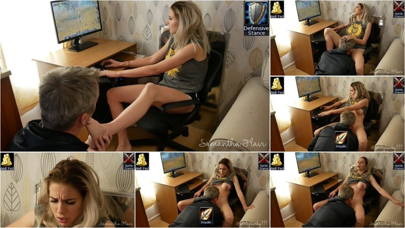 Kinkycouple111, Samantha Flair - Huge Orgasm While Playing World Of Warcraft Classic [FullHD 1080P]